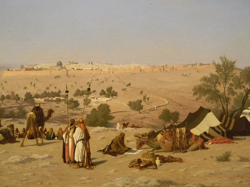 Charles-Théodore Frère, Jerusalem et ses environs 1837