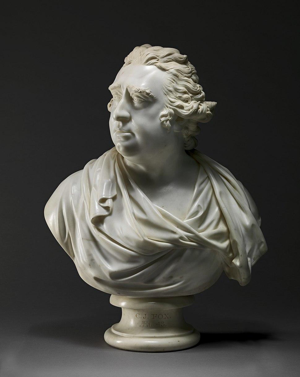 Charles James Fox by Joseph Nollekens 1792
