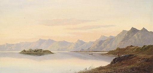 Charles Leslie Schottische Landschaft 1872