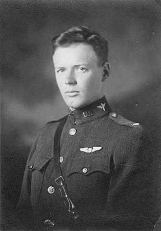 Charles Lindbergh - 2nd Lt. Charles A. Lindbergh, USASRC March 1925