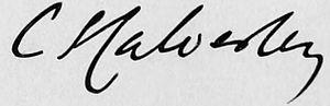 Charles Stuart Calverley - Image: Charles Stuart Calverley sig