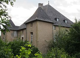 The chateau in Vernéville