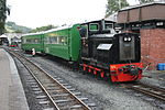 Chattenden shunts the Sierra Leone coaches