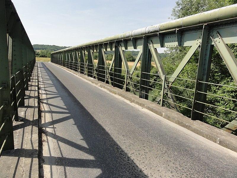Chavonne (Aisne) pont de l'Aisne