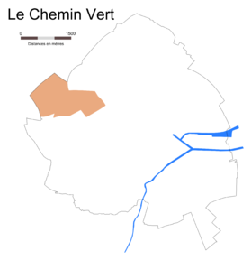 Image illustrative de l'article Le Chemin Vert (Caen)