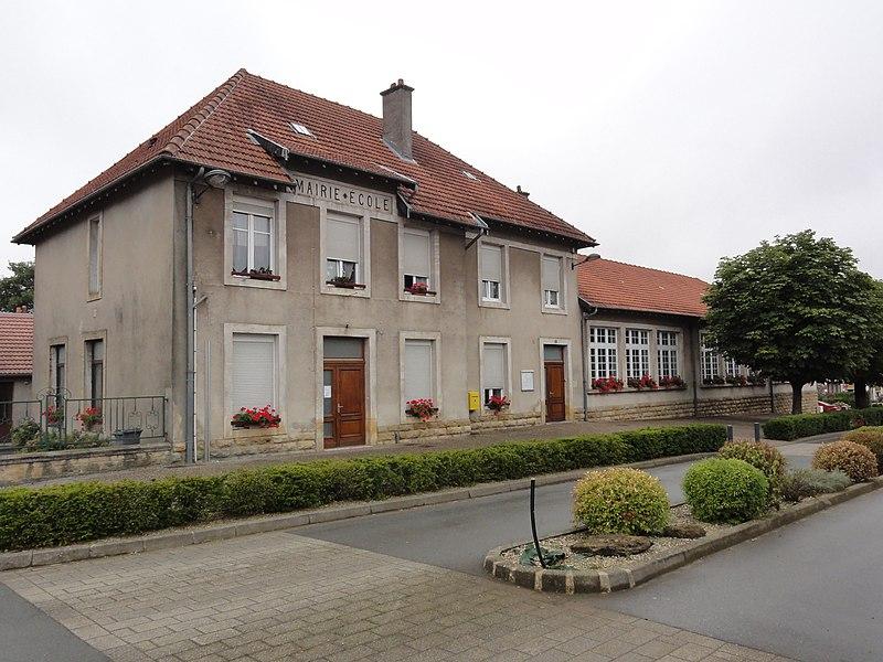 Chenières (Meurthe-et-M.) mairie-école