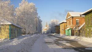 Krasnoborsky District - The selo of Cherevkovo