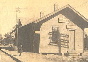 Chester, Virginia - Chester, Virginia Station on the Seaboard Air Line 1914.