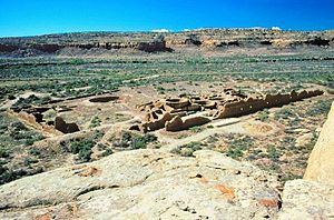 Chetro Ketl - Chetro Ketl from the north overlook