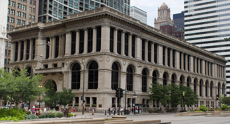 File:Chicago Cultural Center and Chicago Public Library, Chicago June 30, 2012-42.jpg