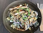 Chicken salad at TurBARlence , Hotel ibis Mackay Airport, Mackay, Queensland.jpg