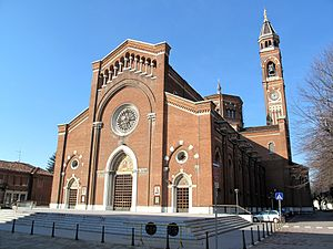 Lissone - Church of St. Peter and St. Paul, colloquially called the Duomo di Lissone