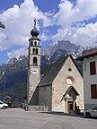 Włochy - Wenecja Eugenejska, Alleghe, Widok z hot