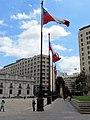 Chilean Flag - La Moneda - Presidential Palace - Santiago, Chile (5277421817).jpg
