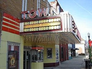 Chillicothe, Illinois - Art deco movie theater on North 2nd Street