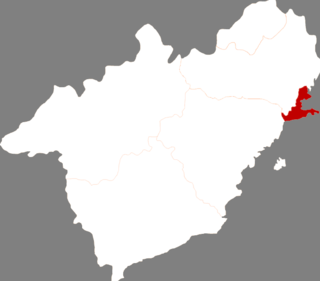 Longgang District, Huludao District in Liaoning, Peoples Republic of China