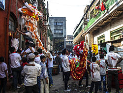 Chinese New Year 2014 Celebration in Kolkata