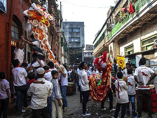 Chinese New Year 2014 in Kolkata - United Friends Group