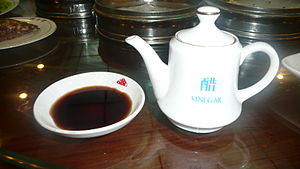 Rice vinegar - Chinese black vinegar