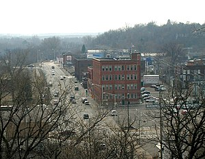 National Register of Historic Places listings in Chippewa County, Wisconsin - Image: Chippewa Falls 2006 A