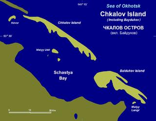 Baydukov Island island in Russia