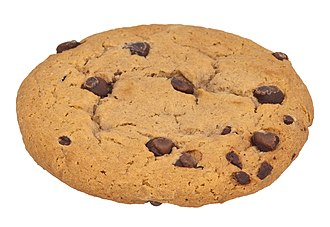 Chocolate chip - Chocolate chips in a cookie