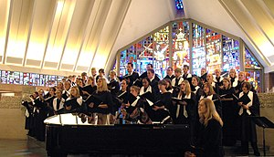 Concordia University Ann Arbor - Image: Choirchapel