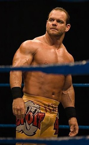 WrestleMania XX - Chris Benoit, one of the challengers in the main event.
