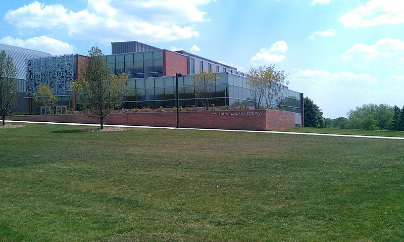 File:Christopher Center library and Arts and Sciences building from Valparaiso University lawn.jpg