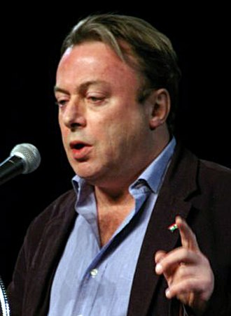 Political views of Christopher Hitchens - Hitchens, wearing a Kurdish flag pin (just behind his left index finger), speaking at the 2007 Amaz!ng Meeting at the Riviera Hotel, Las Vegas
