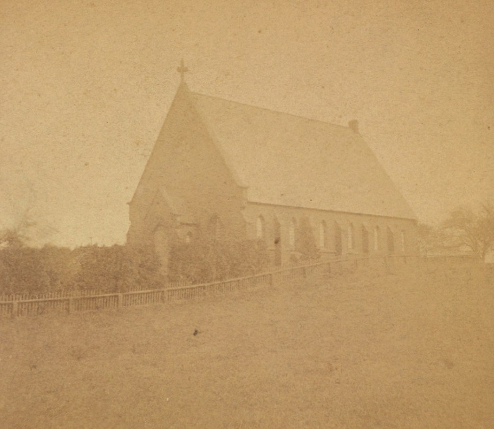 Church at Barrington, by A. G. Eldridge