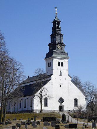 Köping, Sweden - Image: Church in Köping in Sweden