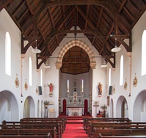 Northampton, Western Australia - Image: Church of Our Lady in Ara Coeli, interior