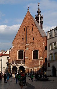 Church of St. Barbara in Kraków.JPG