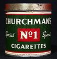 Churchmans No1 Special cigarettes, foto5.JPG