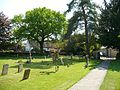Churchyard at Newton Blossomville - geograph.org.uk - 812116.jpg