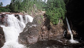 Coulonge River - The Grandes Chutes.