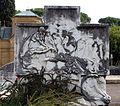 Cimitero dall'antella, sepolcreto di alberto giovannini con rilievi di raffaello romanelli, 1916, 02.JPG