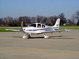 Cirrus SR22 on the ramp.jpg