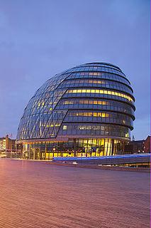 Rathaus im Vereinigten Königreich