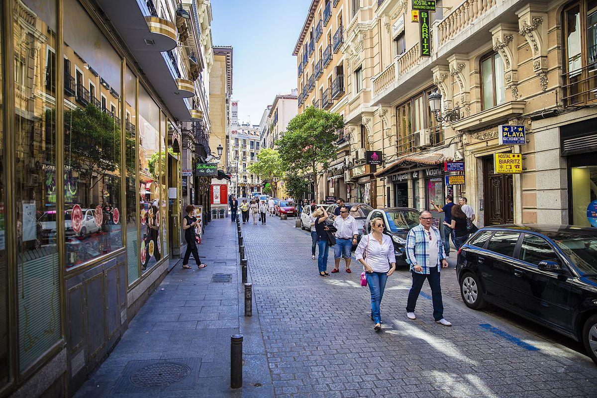 Calle de la victoria madrid wikipedia la enciclopedia libre - Calle nebulosas madrid ...