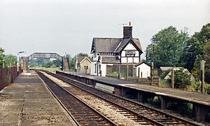 Clapham railway station - Image: Clapham (North Yorkshire) station geograph 3109754 by Ben Brooksbank