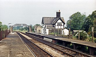 Clapham railway station - Image: Clapham (North Yorkshire) station geograph 3109754 by Ben Brooksbank