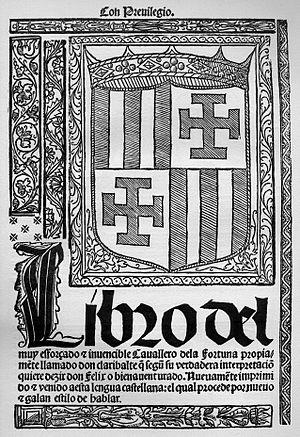 Gonzalo Fernández de Oviedo y Valdés - Image: Claribalte 1519