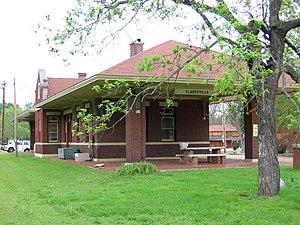 Clarksville, Arkansas - Old Train Station in Clarksville