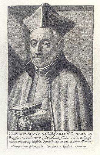 Henry Garnet - Garnet's superior in Rome, Claudio Acquaviva
