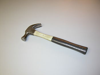 English: Claw hammer