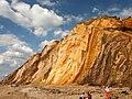 Cliffs at Alum Bay - geograph.org.uk - 1023394.jpg