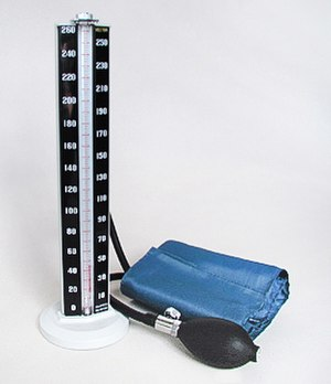 Sphygmomanometer - Clinical mercury Manometer