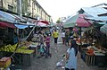 Clock tower, main road and central market 04.jpg